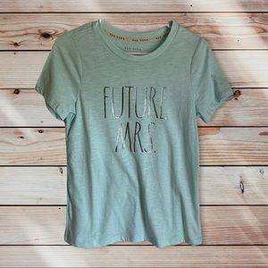 Rae Dunn Soft Baby Blue Bride To Be Future Mrs Tee